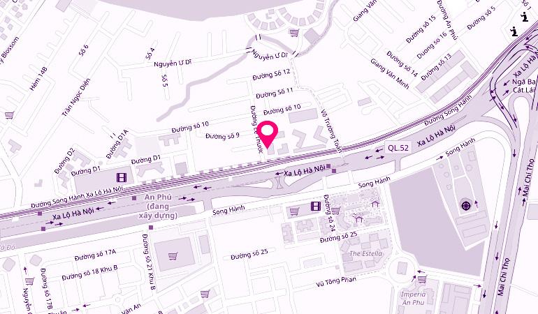 Timi Eyebrow Salon Map